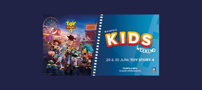 Kids weekend: Toy Story 4